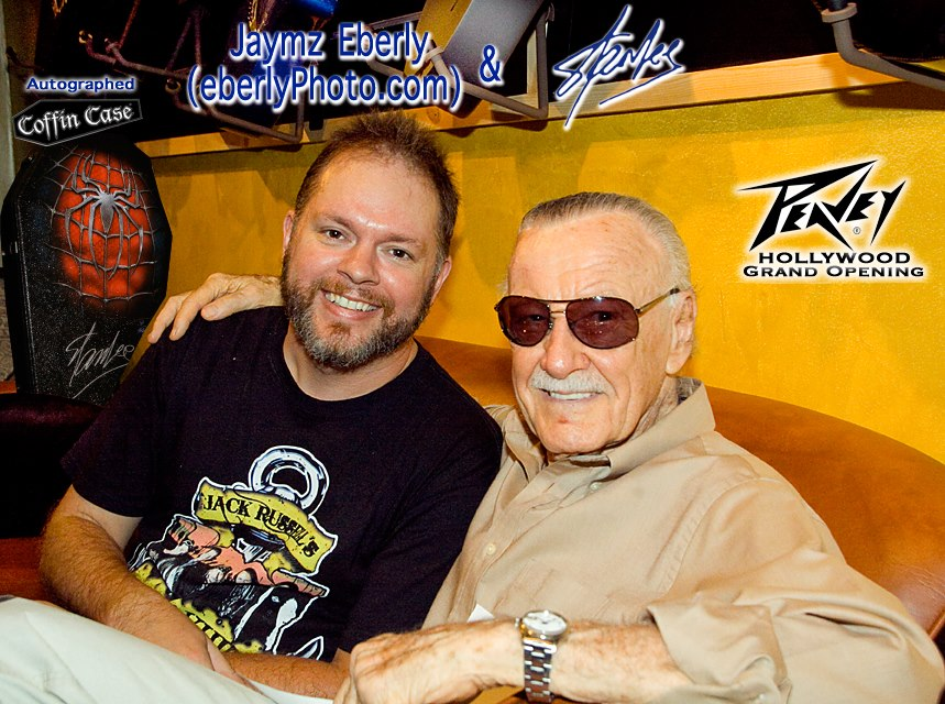 Stan Lee and Jaymz Eberly (eberlyPhoto.com)